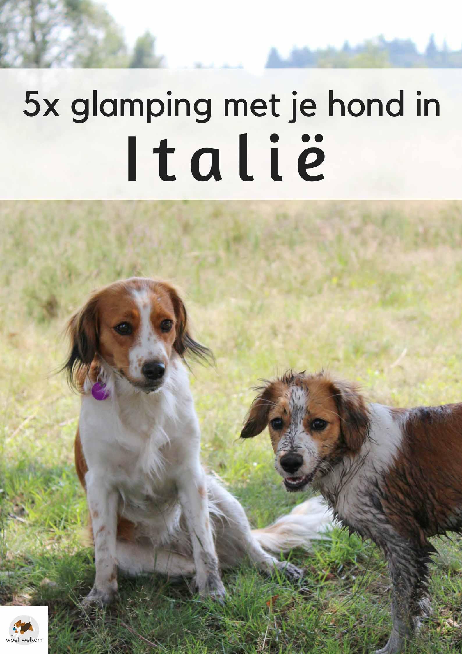 5x glamping met je hond in Italië - Woef Welkom