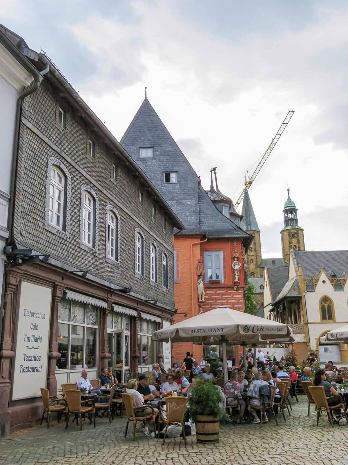 Met de hond naar de Harz, Goslar