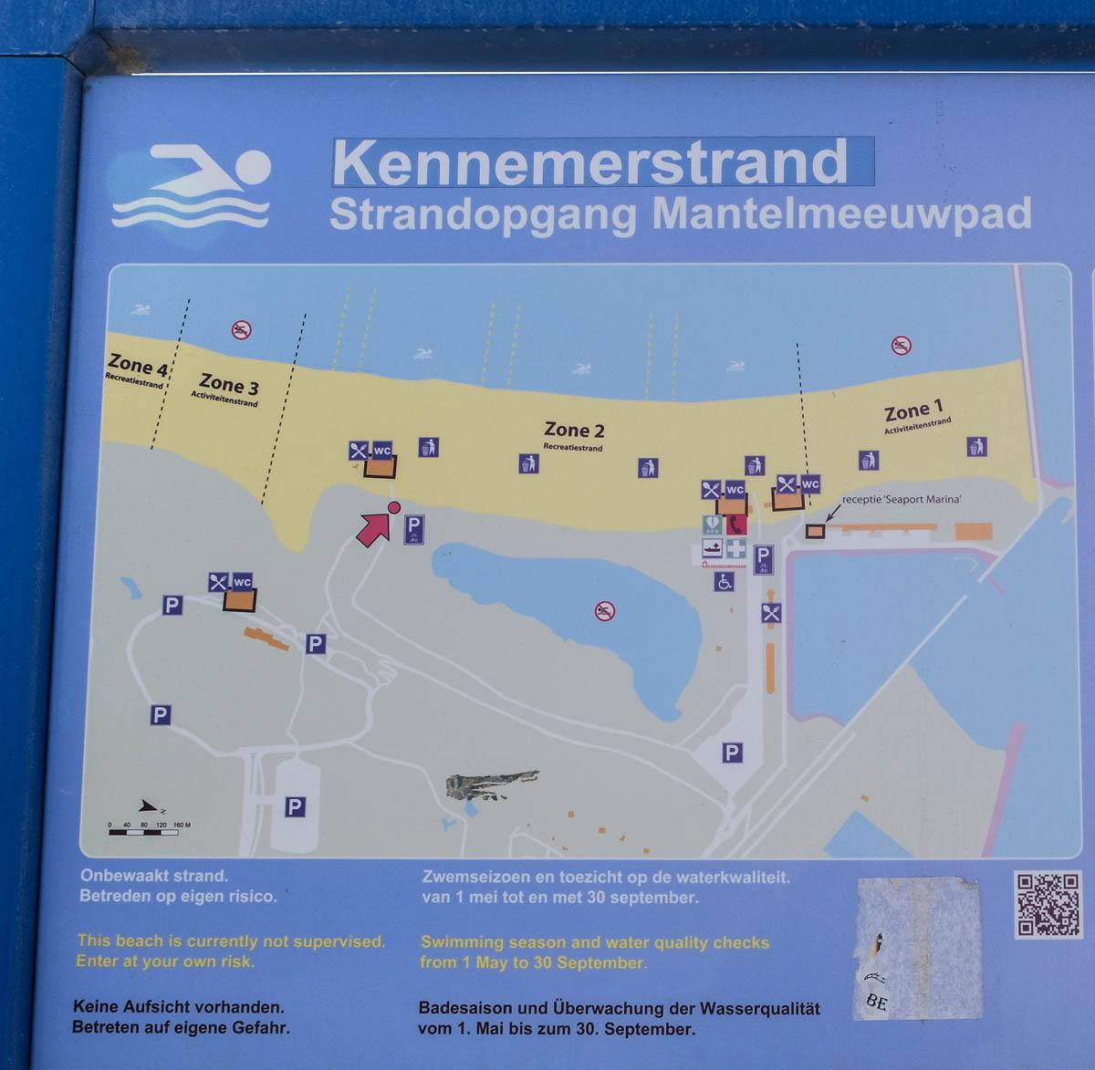 Naar het hondenstrand in IJmuiden